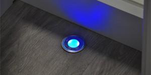 LED-Lampe: Runder  Einbaustrahler (Fussboden)